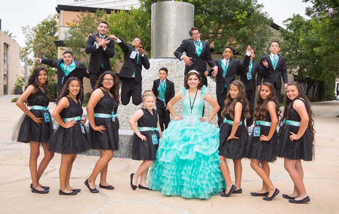 Cassandras Tiffany Co Quinceaera