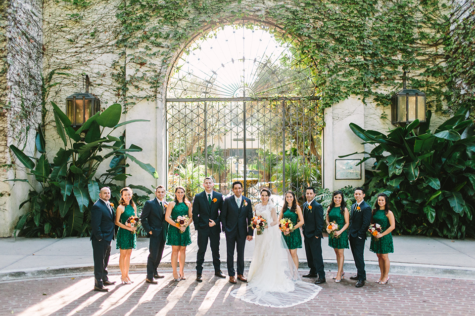 Fiesta Themed Wedding At The Los Angeles River Center Gardens